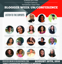 Blogger Week List of Events – August 15th – 20th